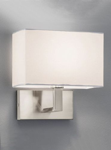 Franklite WB045/9892 Satin Nickel Wall Light